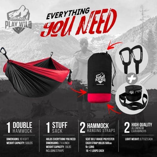 Portable Hammock for Travel
